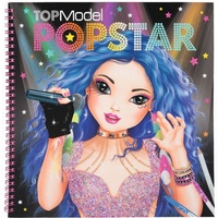 Top Model - Popstar Colouring Book