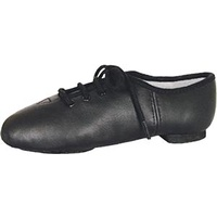 Jazz Shoes Lace Up Black Adult