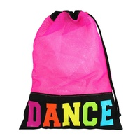 Dance Hot Pink Mesh Shoe Bag