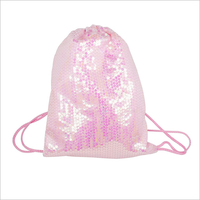 Sequin Shoe Bag Pink