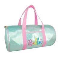 Pinky Poppy Vivid Ballet Carry Bag- Mint