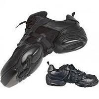 Sneaker Leather Mesh Speed Lace Black