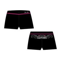 Mad Ally Dance Shorts Black/Pink