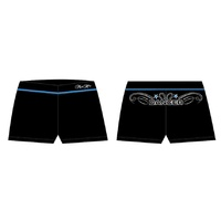 Mad Ally Dance Shorts Black/Blue
