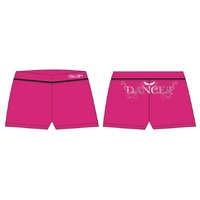 Mad Ally Dancer Shorts Pink