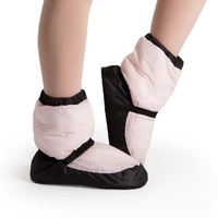 Bloch Candy Pink Warm Up Bootie Child