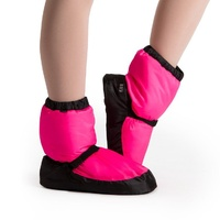 Bloch Pink Fluro Warm Up Bootie Child