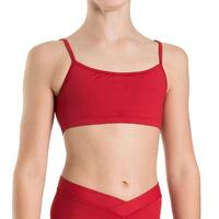 Bloch Dielle Straight Front Girls Crop Top