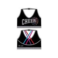 Mad Ally Cheer Crop Bra