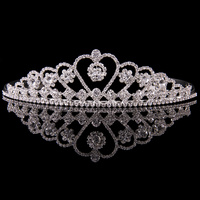 Mad Ally Large Heart Tiara