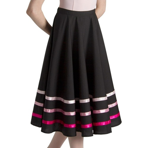 Bloch Pink Ribbon Character Skirt Girls [Size: Small]