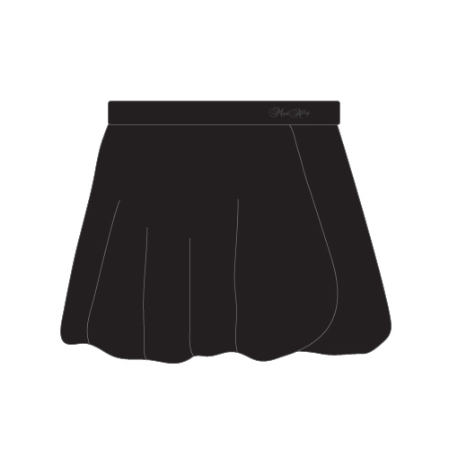 Mad Ally Ballet Skirts [Colour: Black][Size: Child 4]
