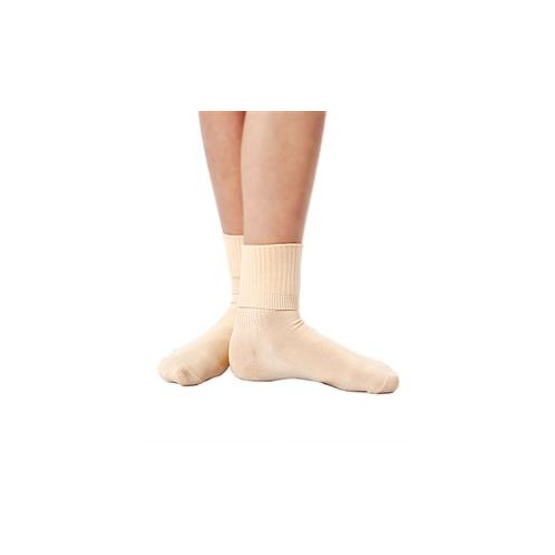 Studio 7 Flesh Ballet Socks [Size:XS]
