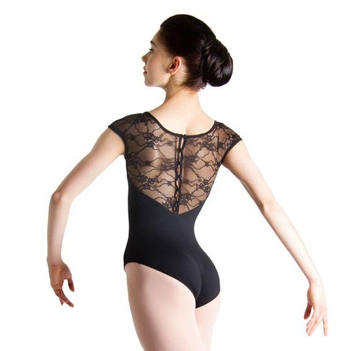 Bloch Chiwa Womens Lace Button Leotard [Size: Extra Small]