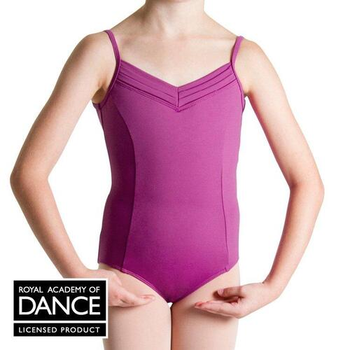 Bloch RAD Rosa Child Examination Leotard [Colour: Berry][Size: Small]