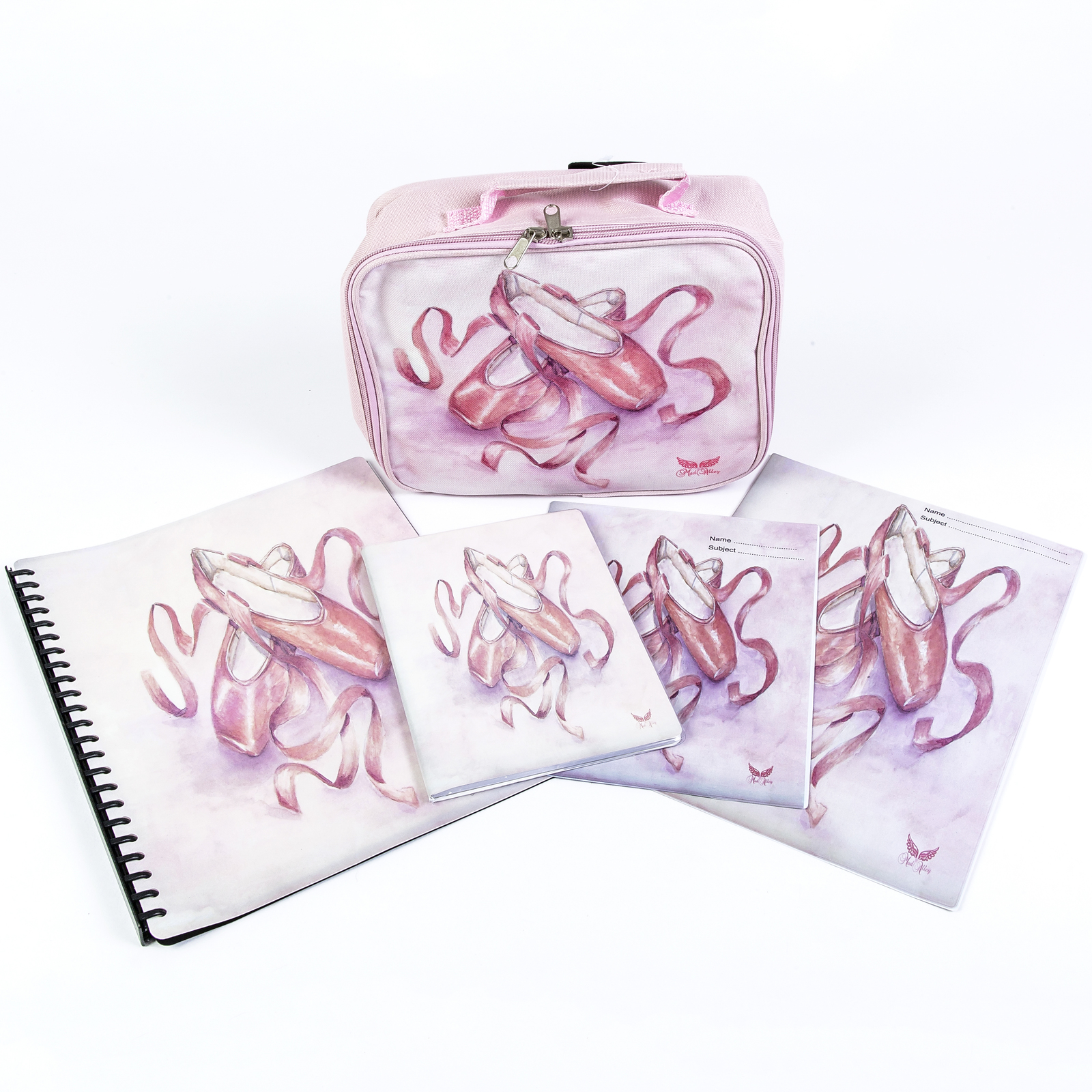 Mad Ally Pointe Shoe A4 Display Book