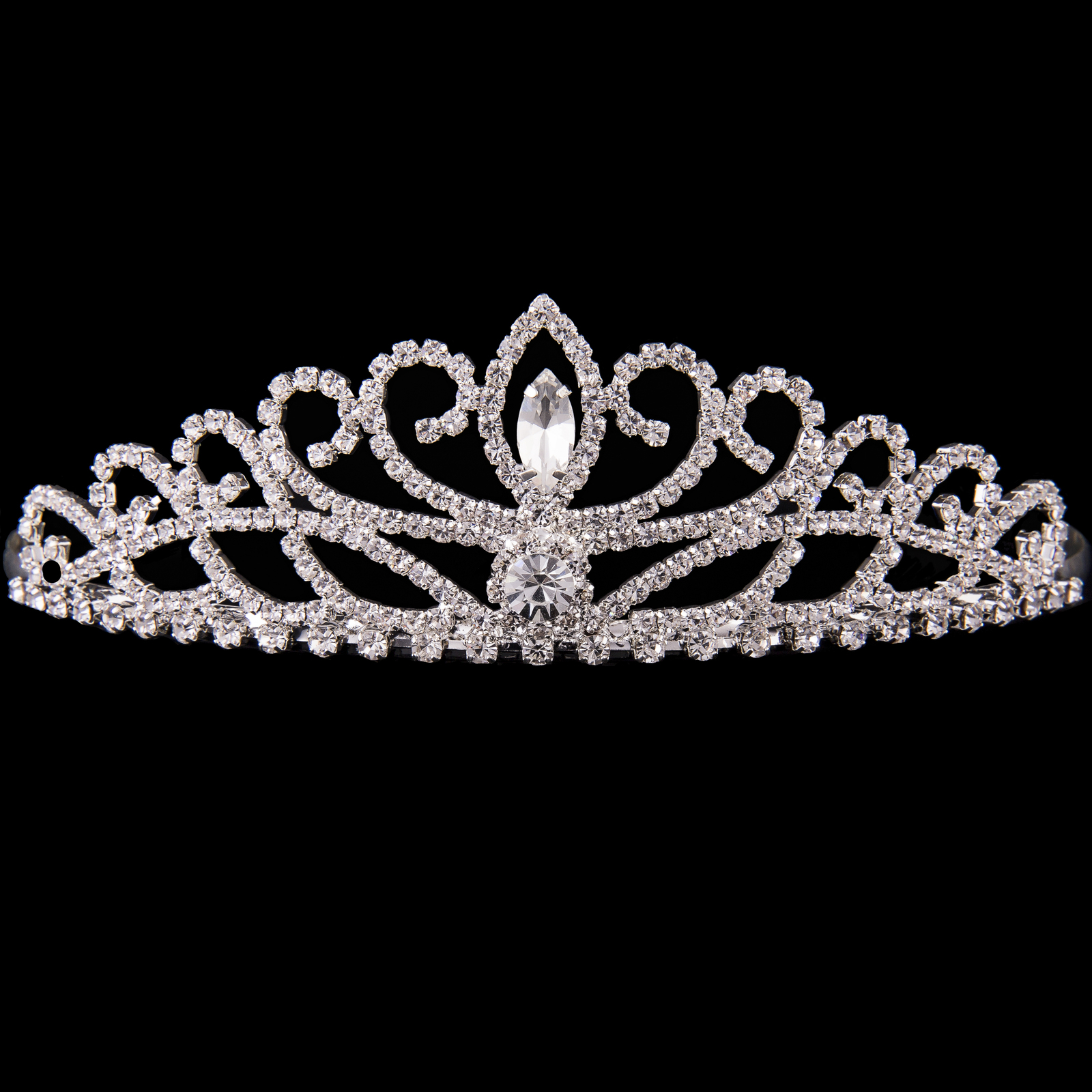 Mad Ally Large Crystal Tiara