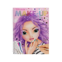 Top Model - Make Up Colouring Book