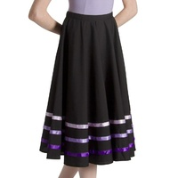 Bloch Purple Ribbon Character Skirt Girls