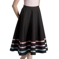 Bloch Pastel Ribbon Character Skirt Womens