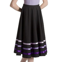 Bloch Purple Ribbon Character Skirt Womens