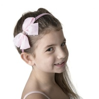 Studio 7 Big Bow Headband Pale Pink