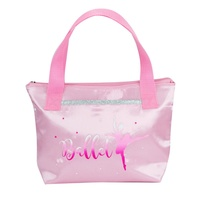 Pink Poppy Tutu Cute Tote Bag- Pale Pink