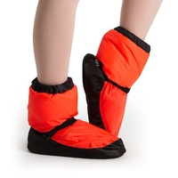 Bloch Orange Fluro Warm Up Bootie Adult
