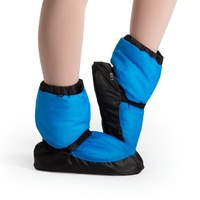 Bloch Blue Fluro Warm Up Bootie Child