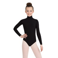 Capezio Turtleneck Long Sleeve Leotard w/ Snaps Child