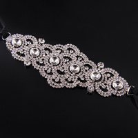 Mad Ally Flat Diamante Headpiece
