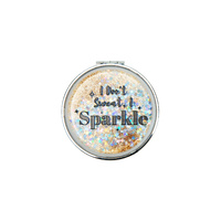 Mad Ally Compact Mirror- Don't Sweat, Sparkle