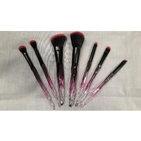Magenta Unicorn Makeup Brushes
