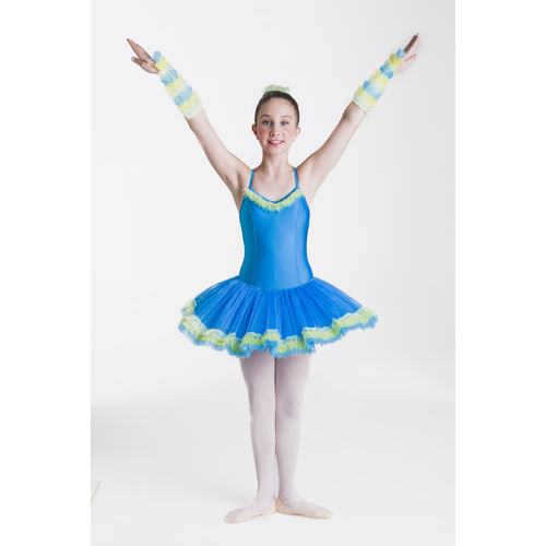 Studio 7 Birds of Paradise Tutu Child Large; Macaw