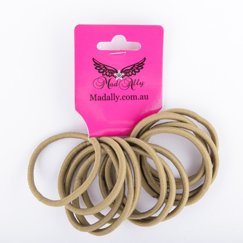Mad Ally Hair Bands Blonde