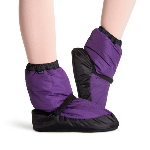 Bloch Purple & Black Warm Up Bootie Child Small