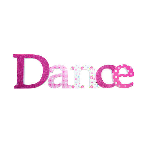 Mad Ally Dance Sign - Pink
